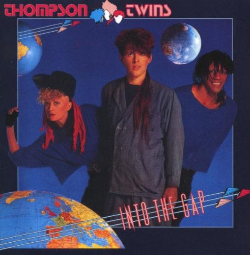 Thompson Twins Hold Me Now cover art