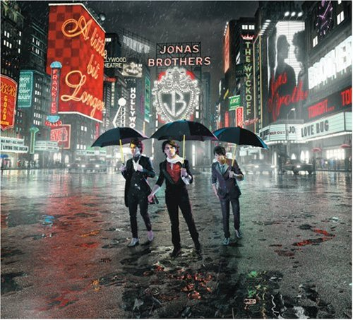 Jonas Brothers Pushin' Me Away cover art