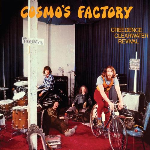 Creedence Clearwater Revival Up Around The Bend cover art