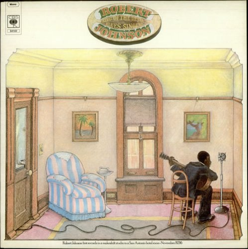 Robert Johnson I Believe I'll Dust My Broom cover art