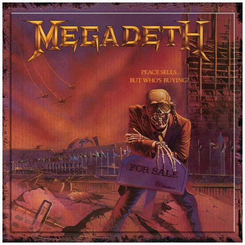 Megadeth Peace Sells cover art