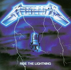Metallica Ride The Lightning cover art