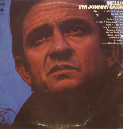 Johnny Cash If I Were A Carpenter cover art