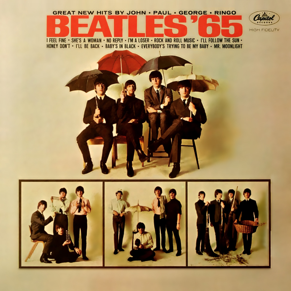 The Beatles She's A Woman cover art