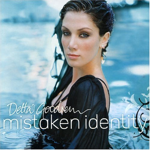 Delta Goodrem Mistaken Identity cover art
