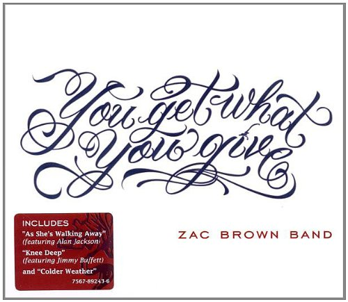 Zac Brown Band Who Knows cover art