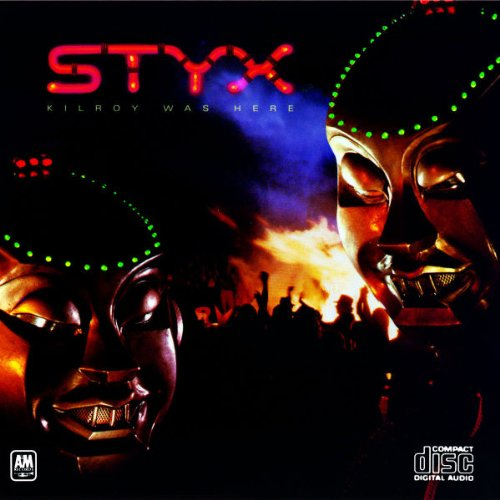 Styx Mr. Roboto cover art