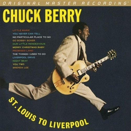 Chuck Berry Little Queenie cover art