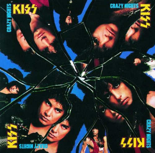 KISS Crazy Crazy Nights cover art