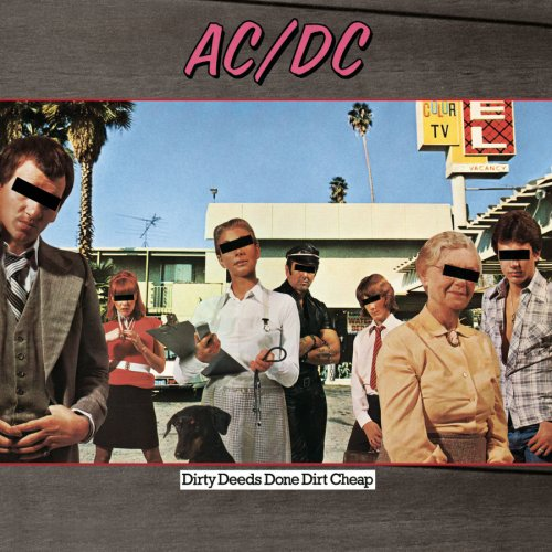 AC/DC Dirty Deeds Done Dirt Cheap cover art