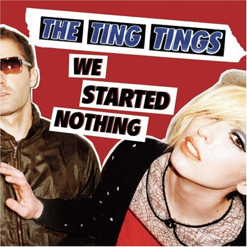 The Ting Tings Shut Up And Let Me Go cover art