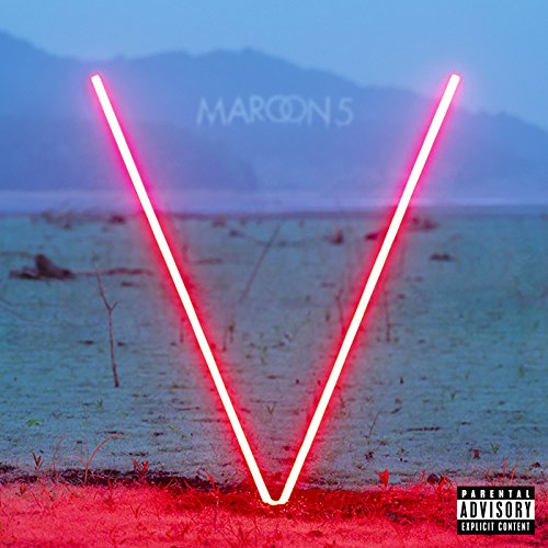 Maroon 5 Sugar cover art