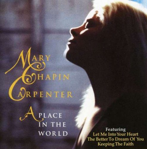 Mary Chapin Carpenter I Can See It Now cover art