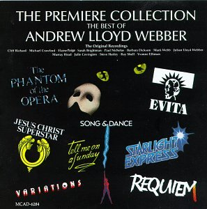 Andrew Lloyd Webber Only You (from Starlight Express) cover art