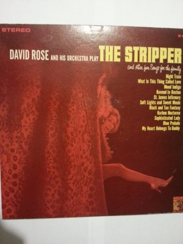 David Rose Orchestra The Stripper cover art