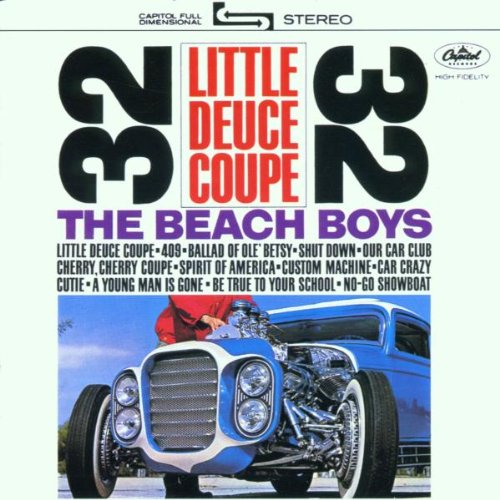 The Beach Boys Little Honda cover art