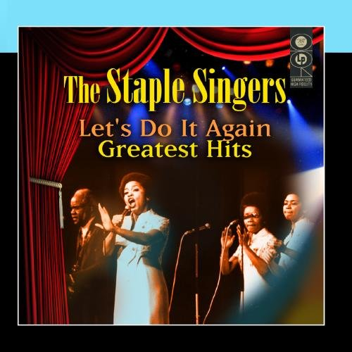 The Staple Singers Let's Do It Again cover art