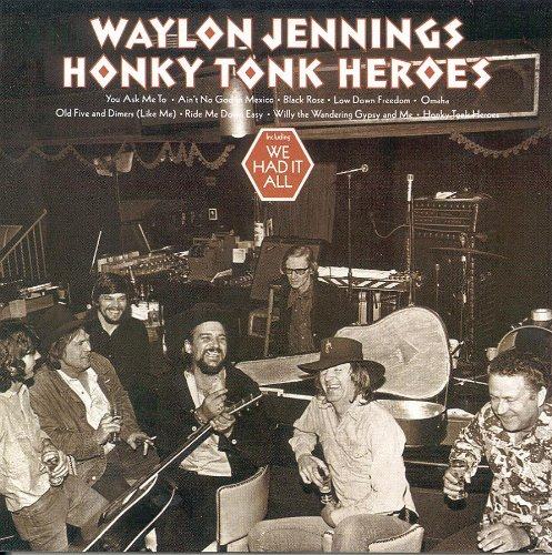 Waylon Jennings Black Rose cover art