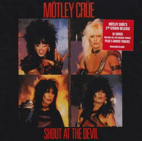 Motley Crue Shout At The Devil cover art