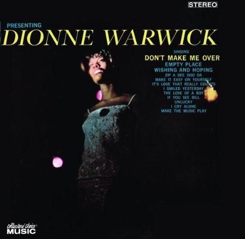 Dionne Warwick Don't Make Me Over cover art