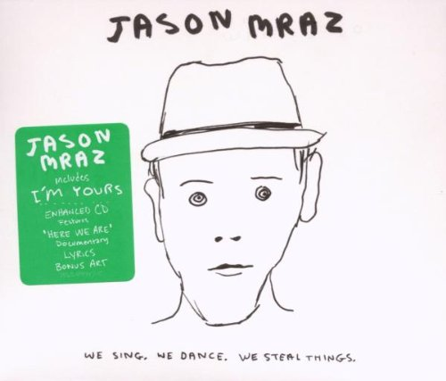 Jason Mraz Lucky cover art