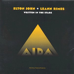 Elton John & LeAnn Rimes Written In The Stars cover art