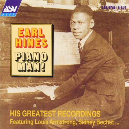 Earl Hines Piano Man cover art