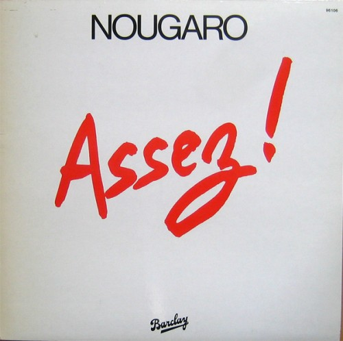 Assez sheet music by Claude Nougaro