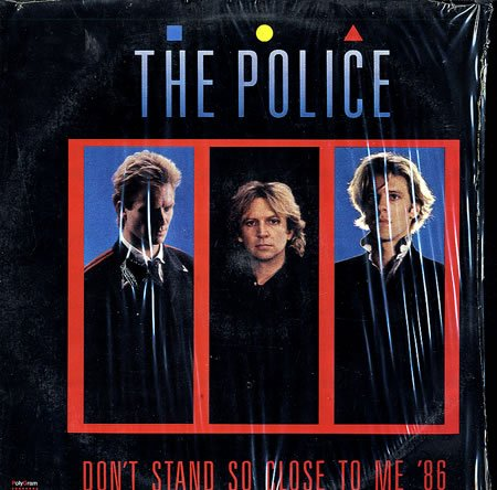 The Police Don't Stand So Close To Me '86 cover art