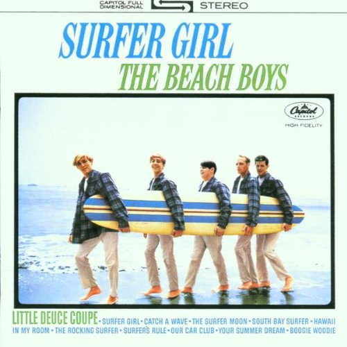 The Beach Boys Surfer Girl cover art
