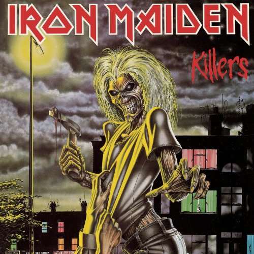 Iron Maiden Killers cover art