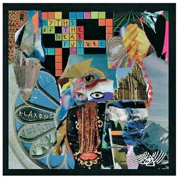 Klaxons Gravity's Rainbow cover art