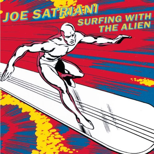 Joe Satriani Surfing With The Alien cover art