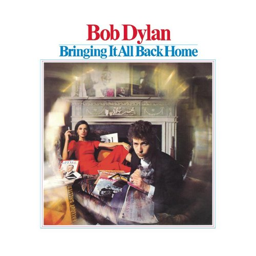 Bob Dylan It's All Over Now, Baby Blue cover art