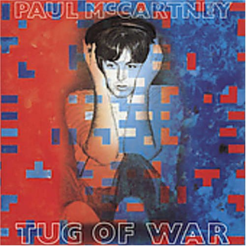 Paul McCartney Tug Of War cover art