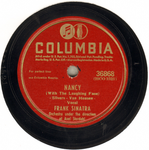 Frank Sinatra Nancy (With The Laughing Face) cover art