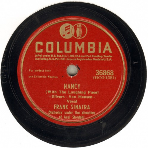 Nancy (With The Laughing Face) sheet music by Frank Sinatra