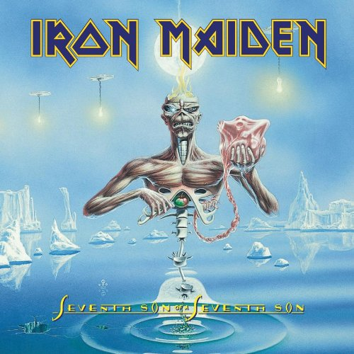 Iron Maiden The Evil That Men Do cover art