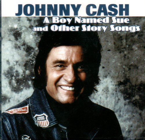 Johnny Cash A Boy Named Sue cover art