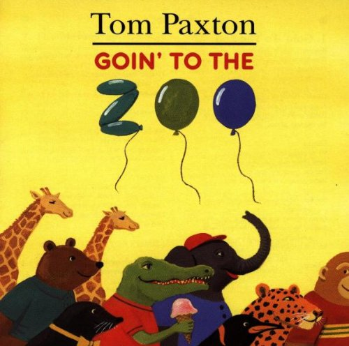 Tom Paxton The Marvelous Toy cover art