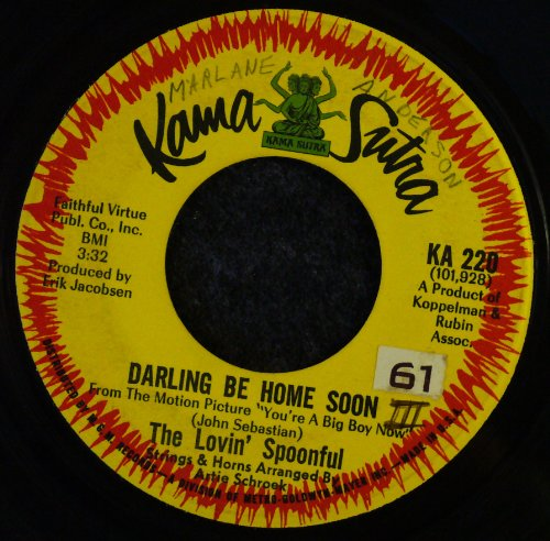 The Lovin' Spoonful Darling, Be Home Soon cover art