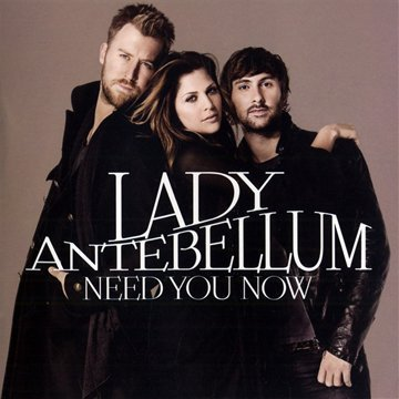Lady Antebellum Need You Now cover art