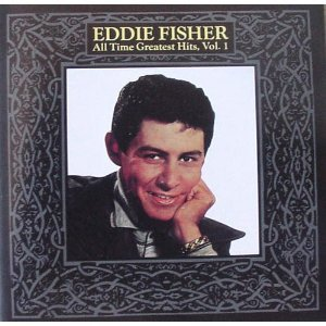 Eddie Fisher I'm Walking Behind You (Look Over Your Shoulder) cover art