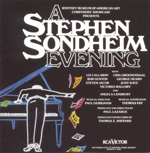Stephen Sondheim What More Do I Need? cover art