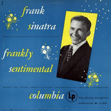 Frank Sinatra It Never Entered My Mind cover art