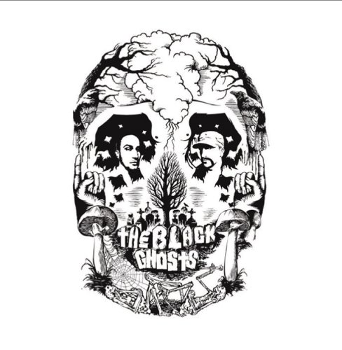 The Black Ghosts Full Moon cover art