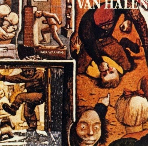 Van Halen Dirty Movies cover art