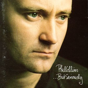 Phil Collins I Wish It Would Rain Down cover art