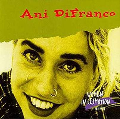 Ani DiFranco Out Of Range cover art