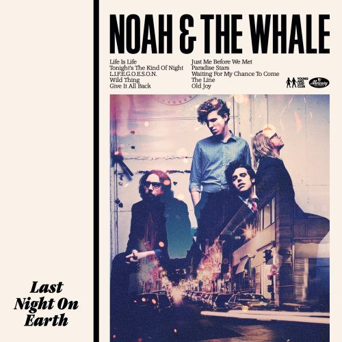 Noah And The Whale L.I.F.E.G.O.E.S.O.N. cover art
